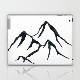 MOUNTAINS Black and White Laptop & iPad Skin