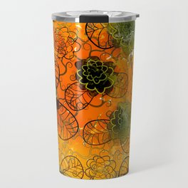 floral mix Travel Mug