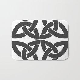 Celtic Shamrock Tribal Knot Bath Mat