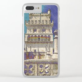 Belem tower, Portugal Clear iPhone Case