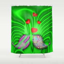 Springtime in forest ... Shower Curtain
