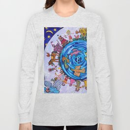 We are all one being Long Sleeve T-shirt