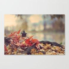 Autumn lantern Canvas Print