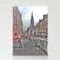 edinburgh Stationery Cards featuring Edinburgh by Christine Workman