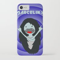 marceline iPhone & iPod Cases featuring Metal Marceline by totemxtotem