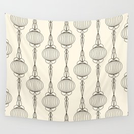 Art Deco No. 50 . Christmas decorations . Wall Tapestry