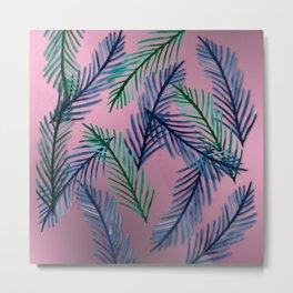 Botanical  pattern I Metal Print