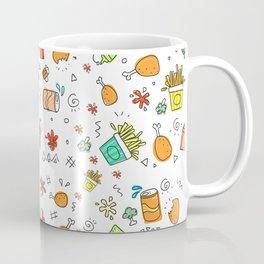 Fast Food Pattern Coffee Mug