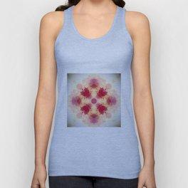 Decorative Pastel Rose blush Abstract Unisex Tank Top