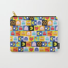 Pac-Man Pattern Carry-All Pouch