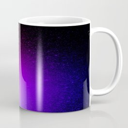 Fuchsia Purple Blue Ombre Coffee Mug