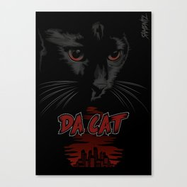 Da Cat Canvas Print