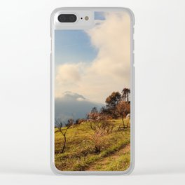 Les Alpes Clear iPhone Case