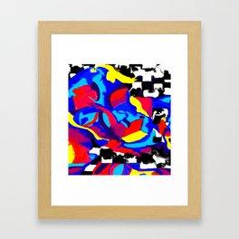 Fusing Substratum Framed Art Print