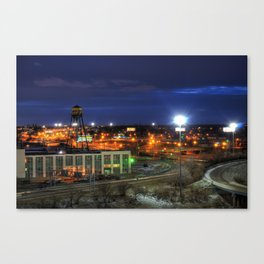 Highways Canvas Print