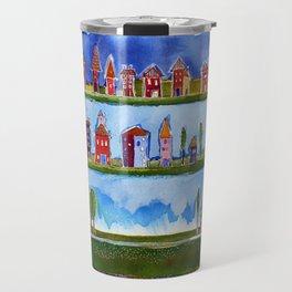 Three Horizons Travel Mug