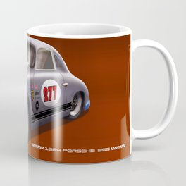 Porsche 356 Illustration Coffee Mug