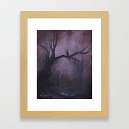 Free and Alone Framed Art Print
