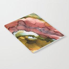 rainbow geode Notebook