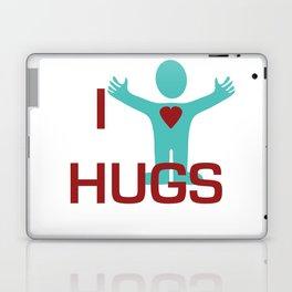 I heart Hugs Laptop & iPad Skin