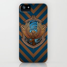 Hogwarts House Crest - Ravenclaw Book iPhone Case