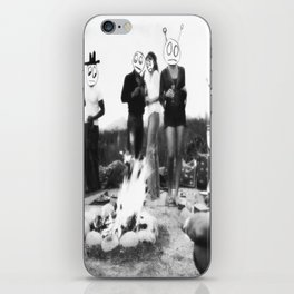 An Uncomfortable Time Around the Campfire iPhone Skin