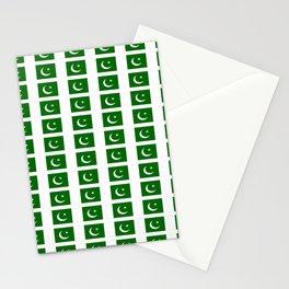 Flag of pakistan-پاکِستان ,pakistani, Karachi,Islamabad,lahore,persian. Stationery Cards