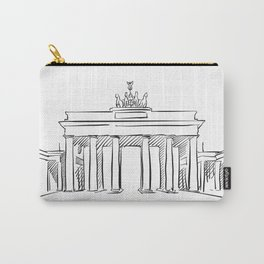 Brandeburg Gate in Berlin Carry-All Pouch