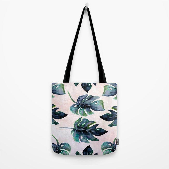 Split Leaf  Tote Bag