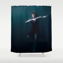 Dancing Under The Water Shower Curtain