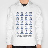 actor Hoodies featuring Gary Oldman by Derek Eads