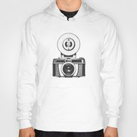 vintage camera Hoodies featuring Camera by danielrafalski