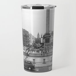 Trafalgar Square, London England Travel Mug