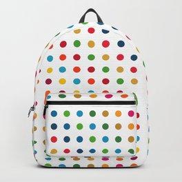 Colourful Dot Design Backpack