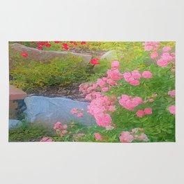 rose dream Rug