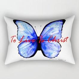 Alive in Christ by Joshua B. Wichterich Rectangular Pillow