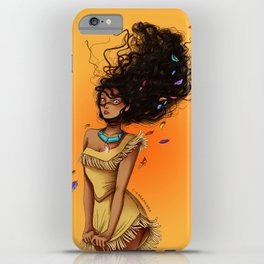 Pocahontas iPhone Case