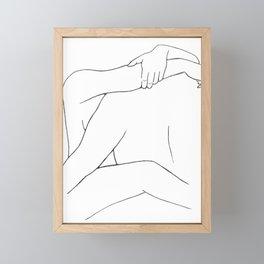 lovers series 5 Framed Mini Art Print