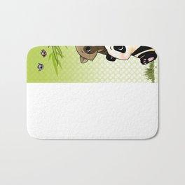 Tanuki et Panda Bath Mat