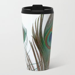 Peakock's Feathers Travel Mug