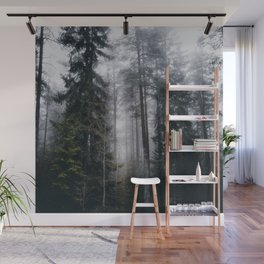 Into the forest we go Wall Mural