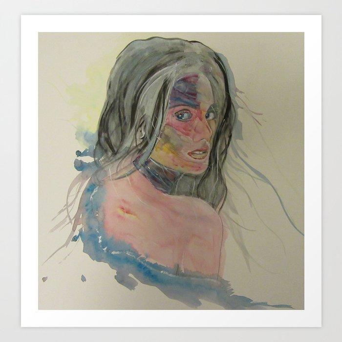 Valeria Art Print