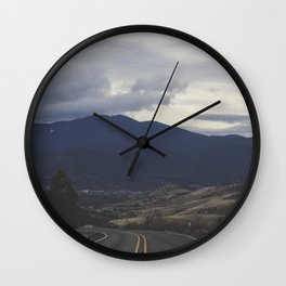 Route 66 zoom Wall Clock