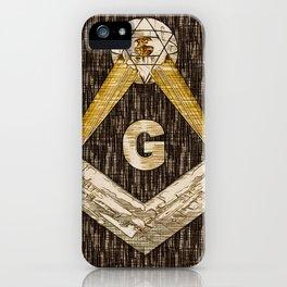 Masonic Symbolism iPhone Case