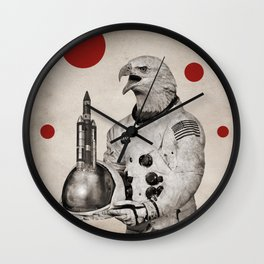 Anthropomorphic N°23 Wall Clock