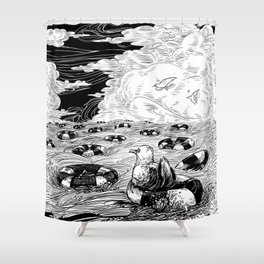 Freedom Of Movement Saves Lives Shower Curtain