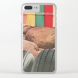 Texture Series: Number Two Clear iPhone Case