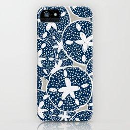 Sand Dollars, Sea Shells on the Beach iPhone Case