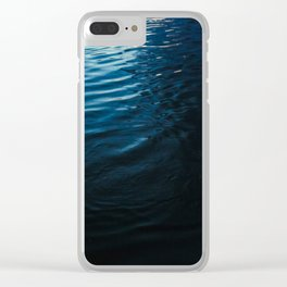 Lake Surface at Dusk Clear iPhone Case