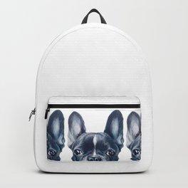 FrenchBulldog 2 Dog illustration original painting print Backpack